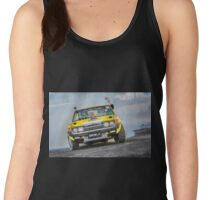 DRIBLZ Tread Cemetery Burnout Women's Tank Top