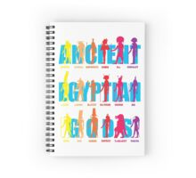 Ancient Egyptian Gods Spiral Notebook