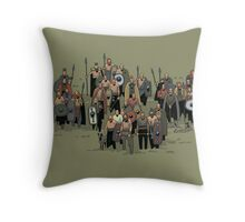 german warriors Throw Pillow