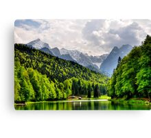 German Mountain Canvas Print