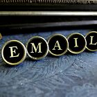 Email - Blue by Patricia Phillips