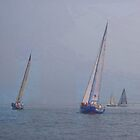 "Sailing in the Sound by Christine ""Xine"" Segalas"