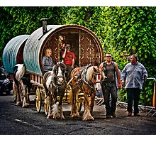 On the way to the Horse Fair Photographic Print