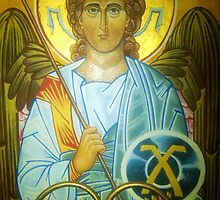 Archangel St. Raphael by FraterNavisMagi