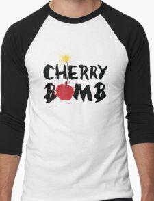 cherry bomb Men's Baseball ¾ T-Shirt