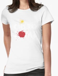 cherry bomb Womens Fitted T-Shirt