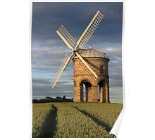 Windmill & Tram lines  Poster