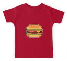 Pixel Burger Kids Tee