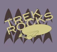 Trek Rocks Kids Tee