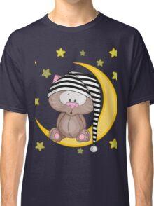 Cat moon dream Classic T-Shirt