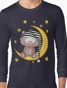 Cat moon dream Long Sleeve T-Shirt
