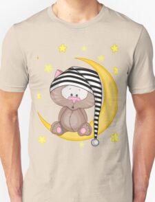 Cat moon dream Unisex T-Shirt