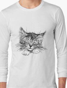 Cat animal Long Sleeve T-Shirt