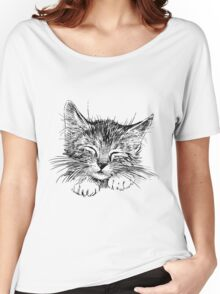 Cat animal Women's Relaxed Fit T-Shirt