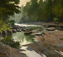 Slater rapids. Muskoka river. by Guennadi Kalinine