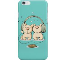 Cats & music iPhone Case/Skin