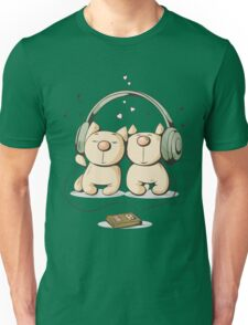 Cats & music Unisex T-Shirt
