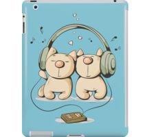 Cats & music iPad Case/Skin