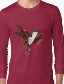 colibri & feather Long Sleeve T-Shirt