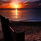 Red sky in morning, sailors warning. (2) by David  Howarth