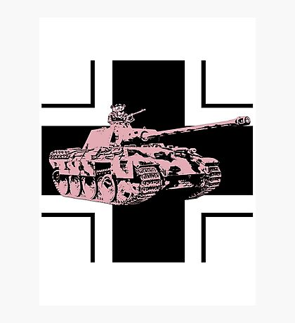 Funny tank Photographic Print