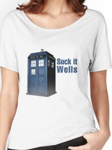 Suck it Wells Women's Relaxed Fit T-Shirt