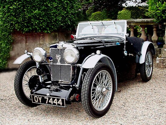 1933 MG J2 by oulgundog