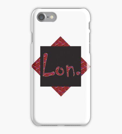 Lon. iPhone Case/Skin