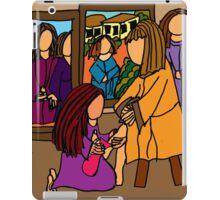 MARY WASHES JESUS FEET iPad Case/Skin