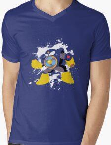 Airman Splattery T Mens V-Neck T-Shirt