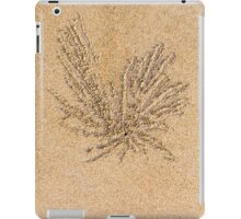 Sand balls and living the beach crab holes iPad Case/Skin