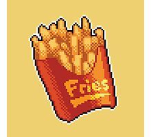 Pixel Fries Photographic Print