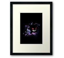Space Gengar Framed Print