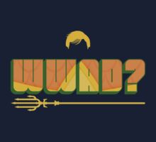 What Would Aquaman Do? Kids Clothes