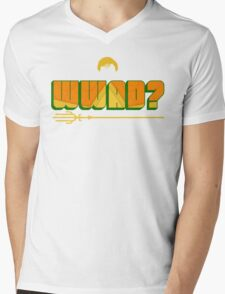What Would Aquaman Do? Mens V-Neck T-Shirt