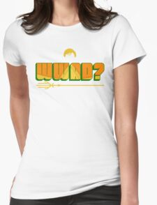 What Would Aquaman Do? Womens Fitted T-Shirt