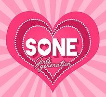 SONE Heart by skeletonvenus