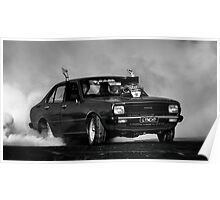 LYNCHY Tread Cemetery Burnout Poster