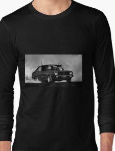 LYNCHY Tread Cemetery Burnout Long Sleeve T-Shirt
