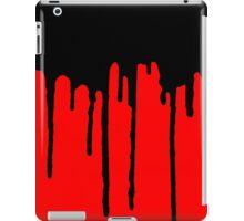 DRIP DRIP DRIP- Black/Red iPad Case/Skin