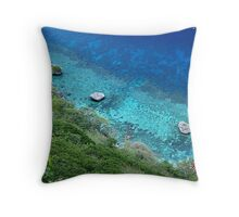 Boulders At Flying Fish Cove Throw Pillow