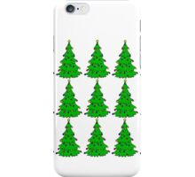 Christmas tree (multiple) iPhone Case/Skin