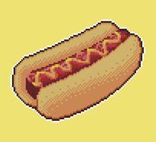 Pixel Hot Dog Kids Clothes