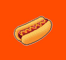 Pixel Hot Dog T-Shirt