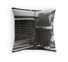 Cadillac Coolness Throw Pillow