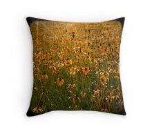 TTV-WATER COLOR FLOWER. Throw Pillow