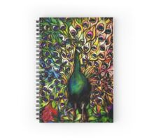 Peacock Majesty Spiral Notebook