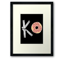 FAT OWENS FAT Framed Print