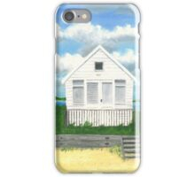 The white beach hut iPhone Case/Skin