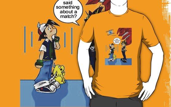 Pokemon vs Yugioh by Miltossavvides